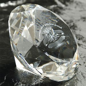60mm Crystal Diamonds