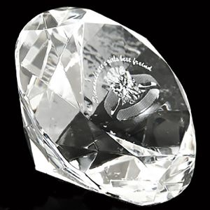 Promotional 60mm Crystal Diamonds for Corporate Gifts