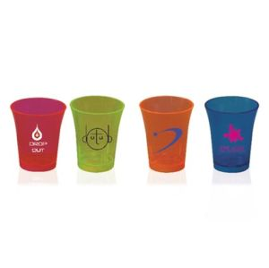 Printed Plastic Shot Glass for Catering Ideas