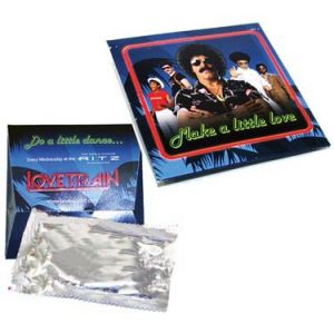 Printed Condom Wallet Pack