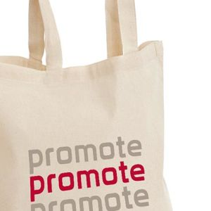 These custom tote bags are eco-friendly, reusable & great for brand awareness!