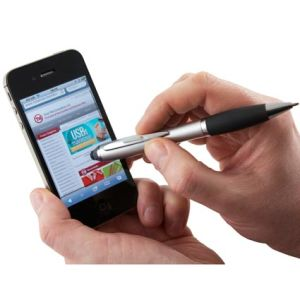Custom company stylus pens freshers gifts