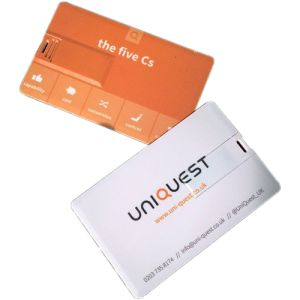Company printed USB Flashdrive Cards for universities