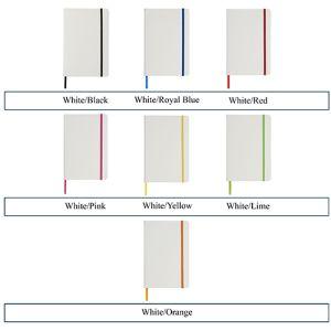 Branded note books for desks colour