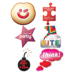 Any Shape Promotional Badges