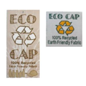 Eco Friendly Recycled Fabric Cap