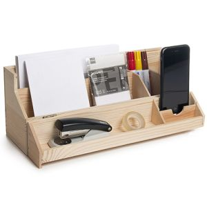 Wine Box Desk Tidies