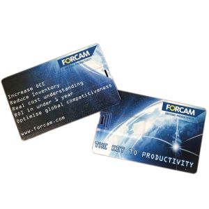 Custom printed USB Flashdrive Credit Cards for storing data