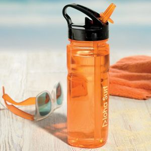 Branded water bottles for travel campaigns