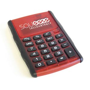 Custom Branded Small Calculators for Workplace Advertising