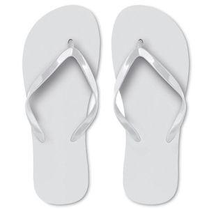 Flip Flops in White