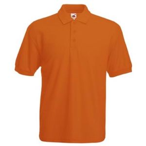 Promotional corporate Orange Polo for marketing