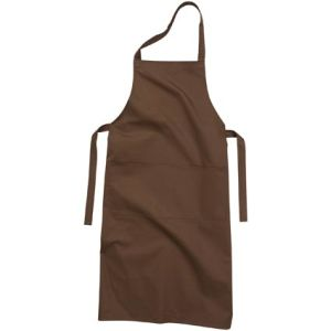 Full Length Apron in Brown