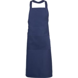 Full Length Apron in Navy