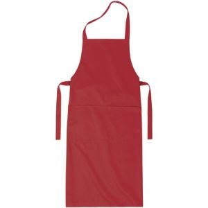 Full Length Apron in Red