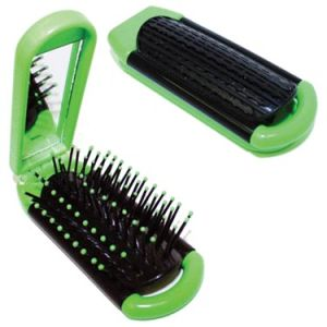 Branded Hairbrush and Mirror for Giveaways
