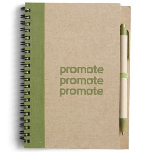 Promotional Recycled Notepad and Pen Sets for offices
