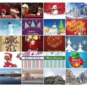 We have a stock design for these branded greeting cards to suit every occasion!