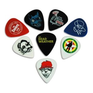 These branded plectrums are available in a wide range of colours depending on your order size.