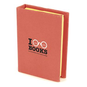 Branded sticky note books for business designs
