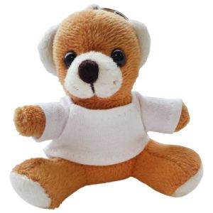 Promotional Jay Jay Bear Keyrings for Childrens Marketing