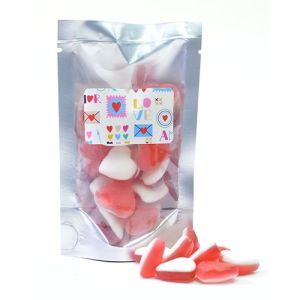 Jelly Love Heart Pouches