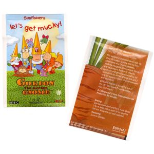 These promotional seed packets make great giveaway items for school children, keen gardeners & more!