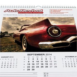 Promotional calendars for merchandise ideas
