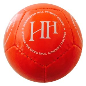 Promotional Mini footballs with corporate branding