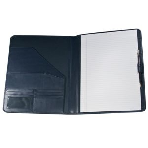 Malvern A4 Leather Conference Folders