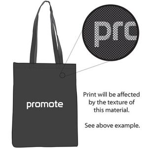 Promo tote bags for freshers giveaways print example