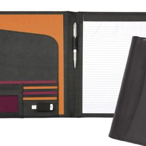 Branded company folders for office merchandise