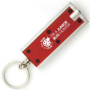 Corporate branded keyrings for promotional events
