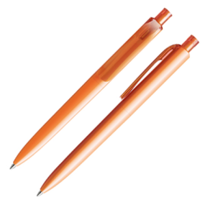 Printed Prodir DS8 Ballpens branded with logo