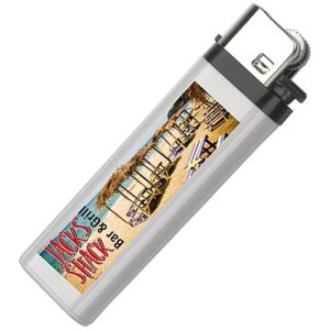 Promotional Disposable Lighters with company artwork