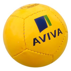 Promotional Footballs in Yellow