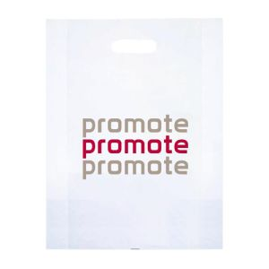 Promotional Polythene Carrier Bags for exhibitions
