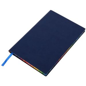 Branded notebooks with business artwork
