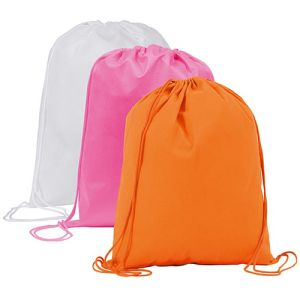 Promotional drawstring bags for school giveaways