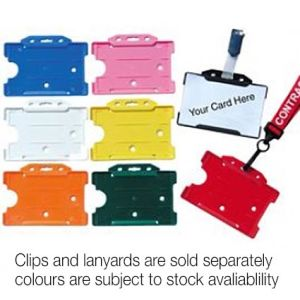 Promotional card holders for event merchandise