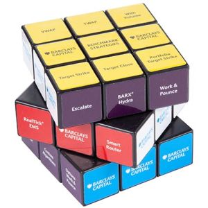 Promotional Rubik Cubes for printed business gifts