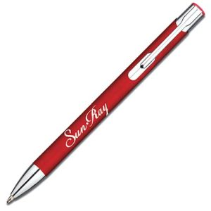 Branded pen with corporate designs