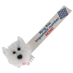 Scottie Dog Logobugs in White