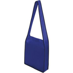 Custom printed shoulder bags with business artwork