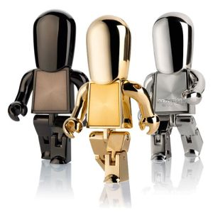 USB Metal People Flashdrives