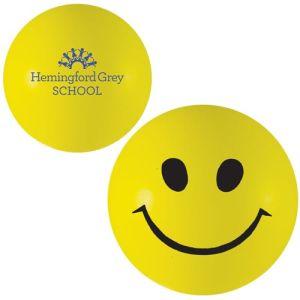 Branded Smiley Face Stress Balls for Office Advertising