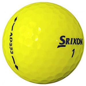 Srixon AD333 Golf Balls in Yellow