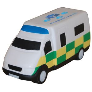 Stress Ambulance in Off White/ Yellow/ Green