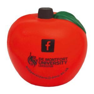 Branded Apple Stress Ball for Marketing Giveaways