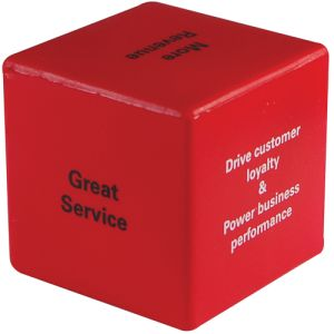 Personalised Stress Cube for Desktop Advertising